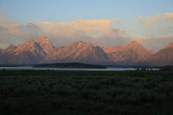 Grand Teton National Park, Wyoming, Sunrise