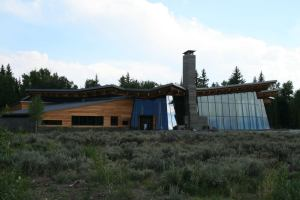 Grand Teton National Park, Wyoming, Visitor Center