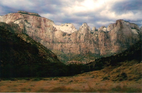West Rim of Zion Canyon