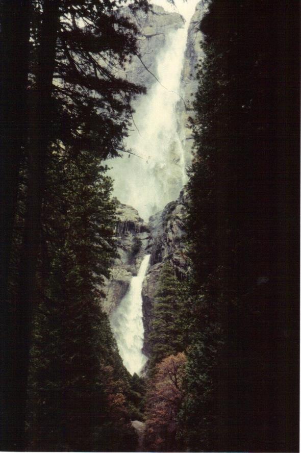 Yosemite 1994 - Upper and Lower Yosemite Falls