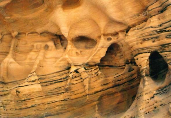 Hidden Canyon rock sculpture