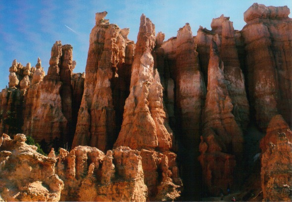 Hoodoos along the Queen's Garden Trail