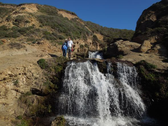 Lower middle falls