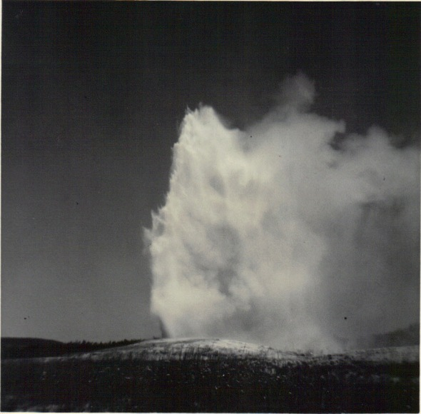 Old Faithful in the 1960's