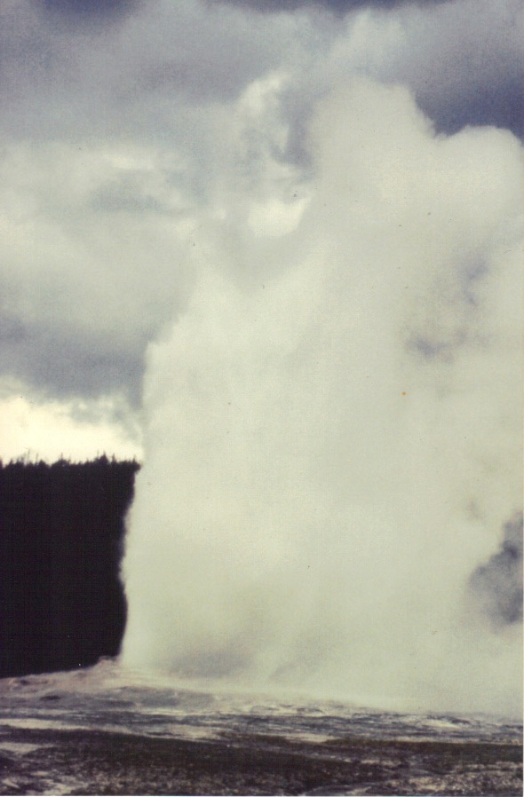 Old Faithful in 1992