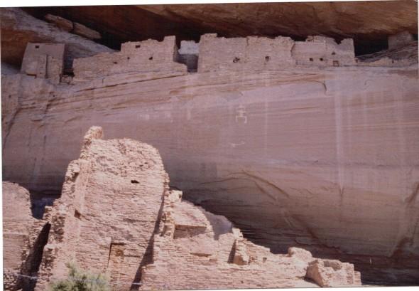 Canyon de Chelly - White House ruins horizontal