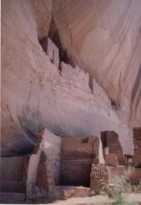 Canyon de Chelly - White House ruins vertical