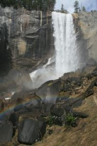 Vernal Fall from the Mist Trail