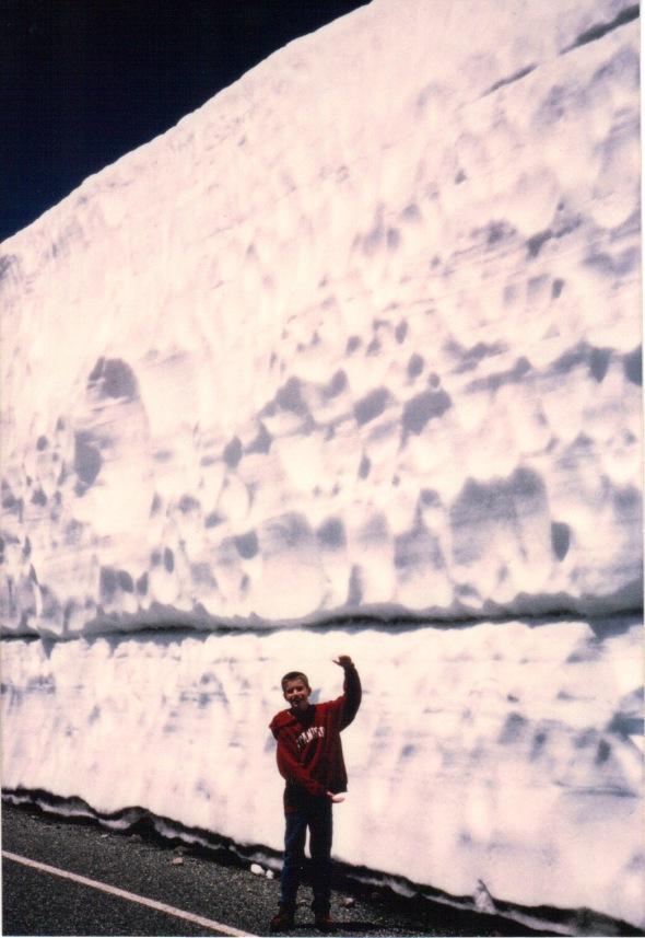 Snowpack June 28, 1998, Lassen Park
