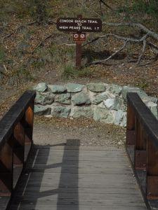 Pinnacles - bridge