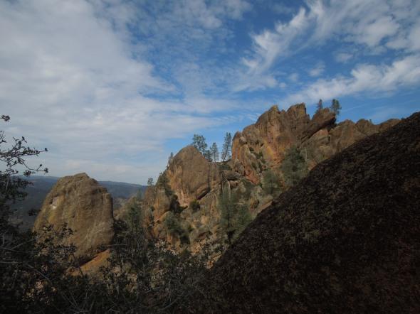 Pinnacles - crags