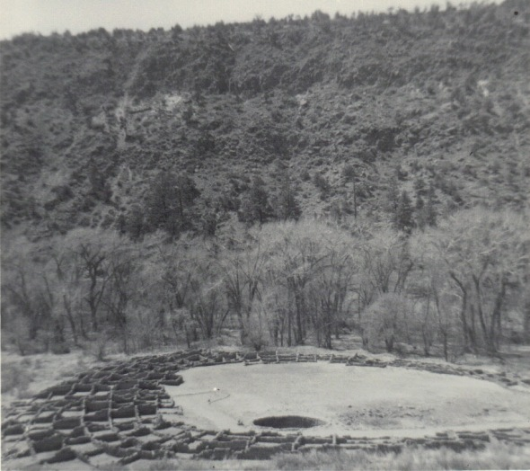 Tyuonyi in Frijoles Canyon