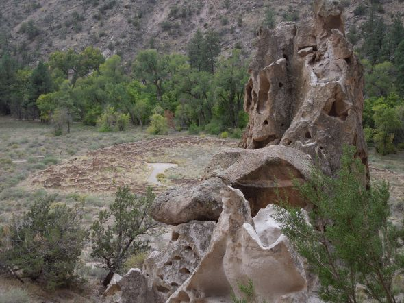 Frijoles Canyon, 2012