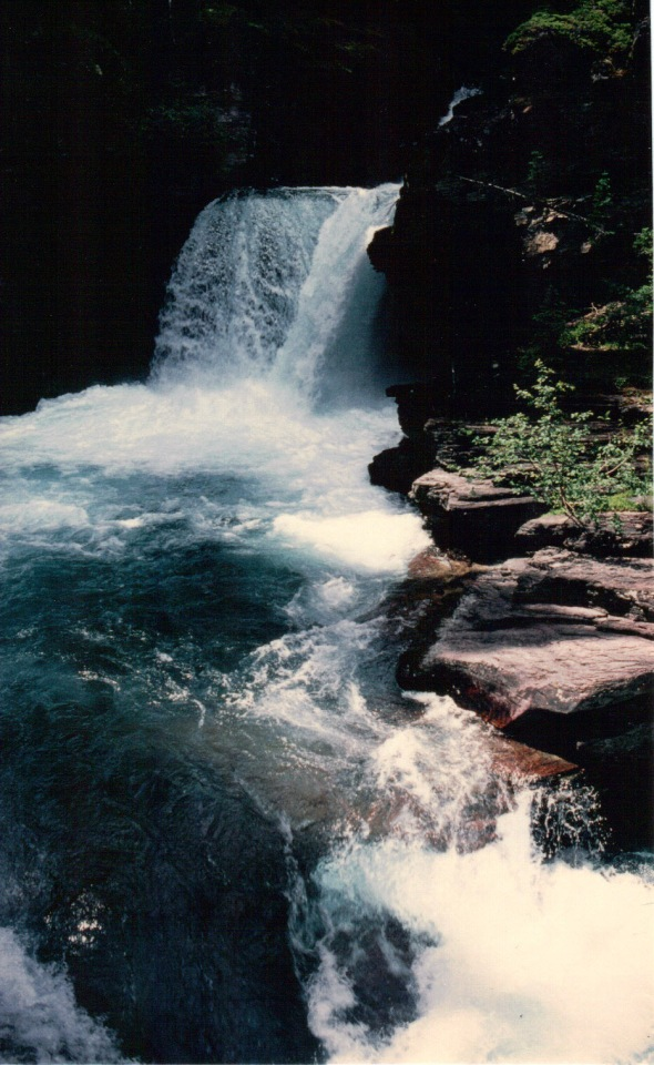 St. Mary Falls (lower cascade)