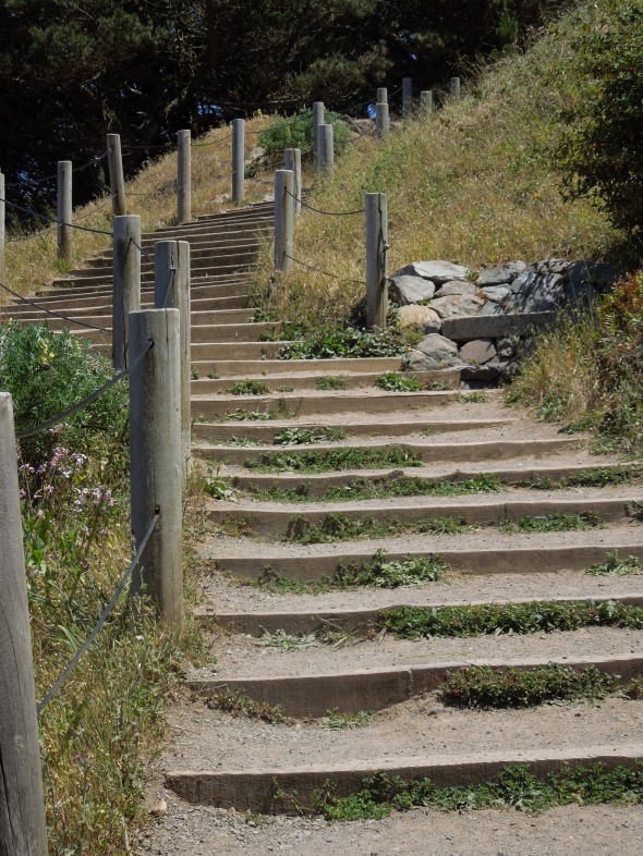 Lands End - stair steps