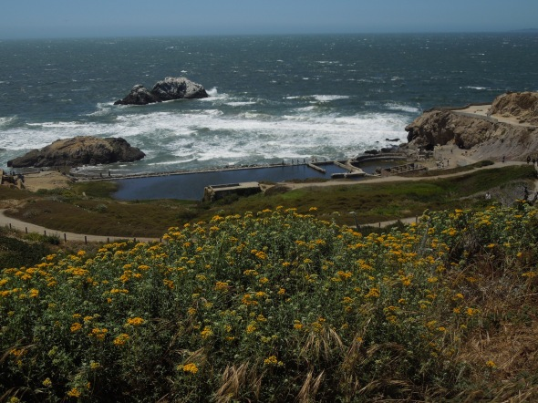 What is left of the historic Sutro Baths