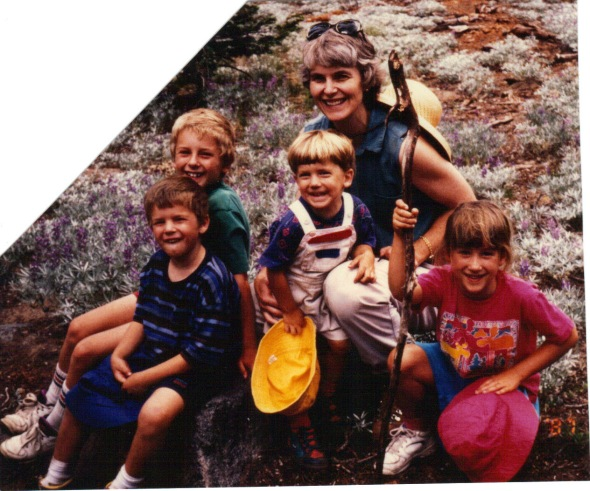 Paradise Meadow hikers - 1994