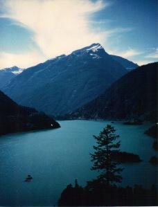 North Cascades - Diablo Lake vertical