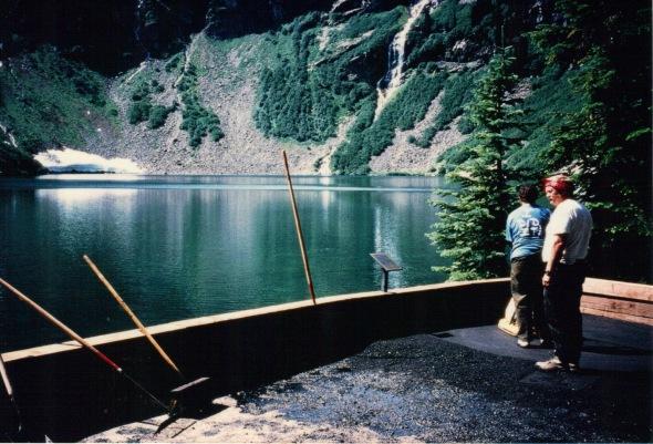 North Cascades - Rainy Lake asphalt crew