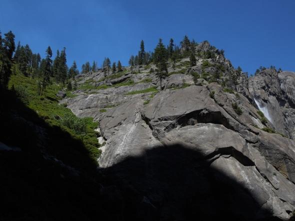 Yosemite Falls disappearing