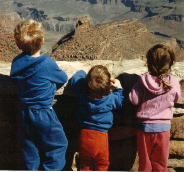 Grand Canyon - little kids