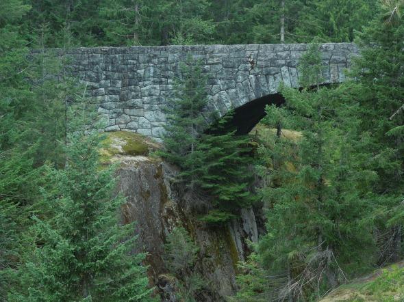 Highway bridge over the Box Canyon