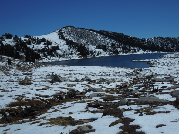 Returning to Middle Gaylor Lake