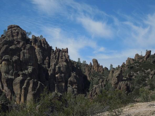 High Peaks Loop Trail, Pinnacles National Park, CA