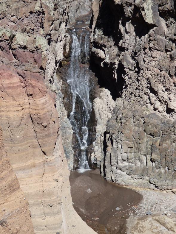Upper Frijoles Falls